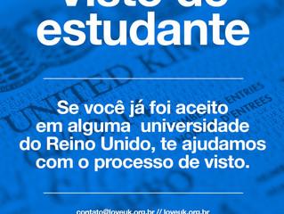 loveUK oferece assessoria gratuita para vistos de estudante