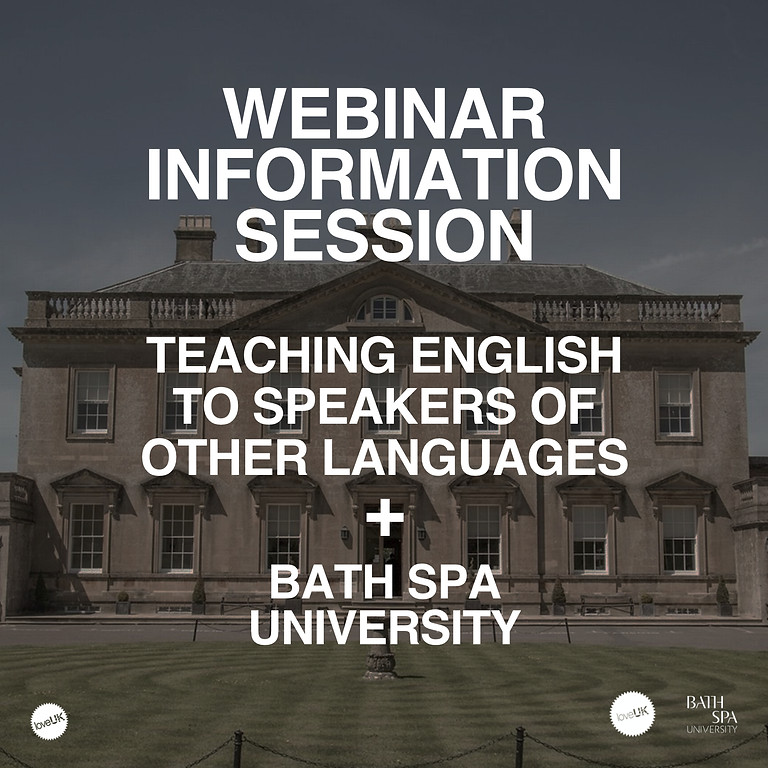 Webinar Bath Spa University