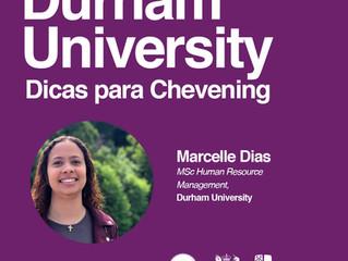 Dicas para a Chevening: estudante compartilha a experiência de conseguir uma bolsa na Durham Univers