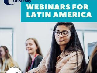 Ulster University promove webinars para America Latina