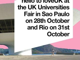 loveUK estará presente na UK Universities Fair no Rio e em São Paulo