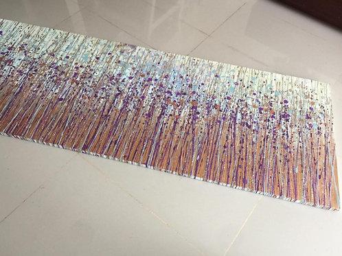 Acrylic paint 70 cms x 160 cms