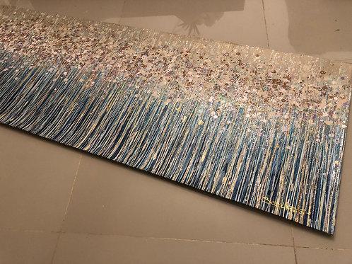 Acrylic paint 60 cms x 160 cms