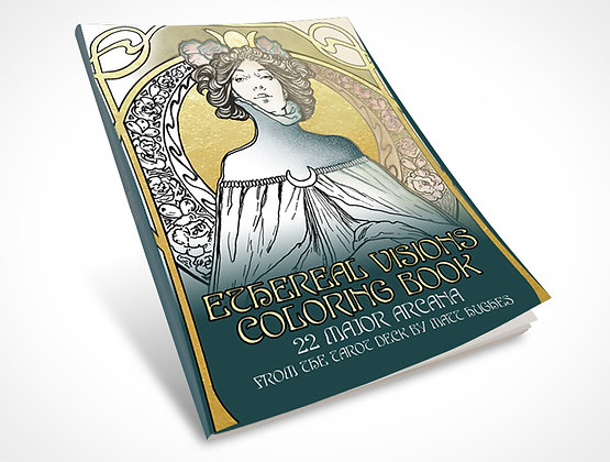 Ethereal Visions Coloring Book