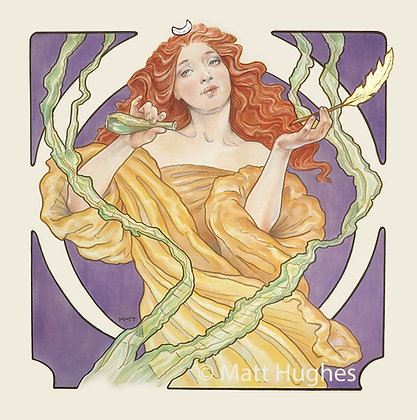 THE ORACLE Print