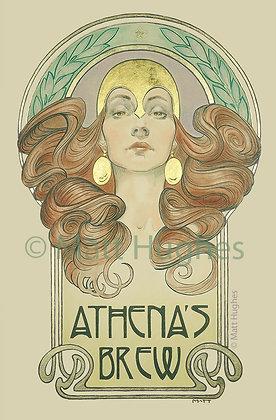 Athena's Brew Print