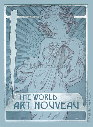 World Art Nouveau Print