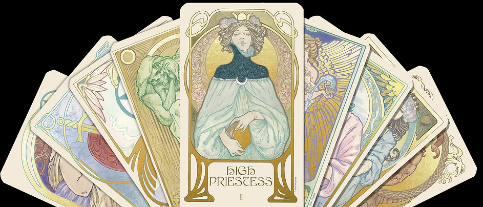 Ethereal Visions: An Illuminated Tarot Deck