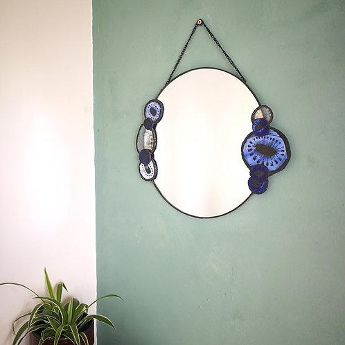 Cornflower Mirror