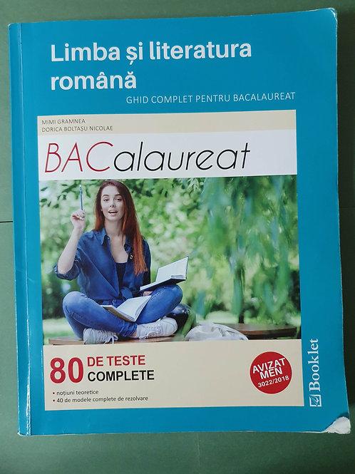 Limba și literatura română - Ghid complet pentru BACALAUREAT