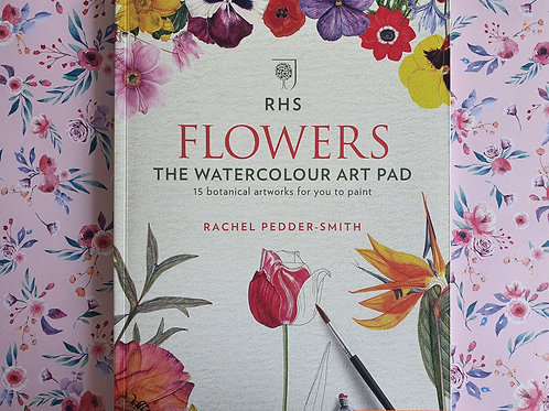 R.P. Smith - Flowers: The Watercolor Art Pad