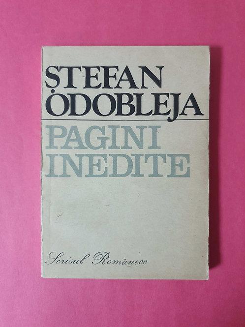 Ștefan Odobleja - Pagini inedite