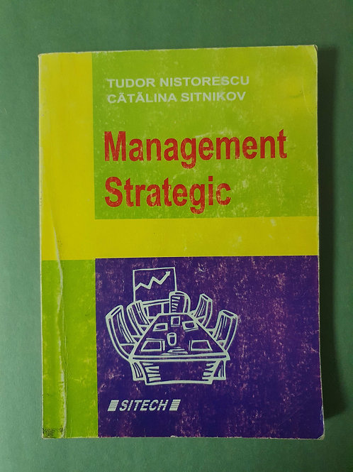 T. Nistorescu, C. Sitnikov - Management Strategic