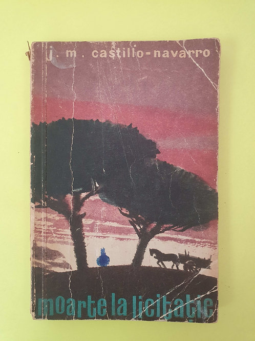 J.M. Castillo-Navarro - Moarte la licitație