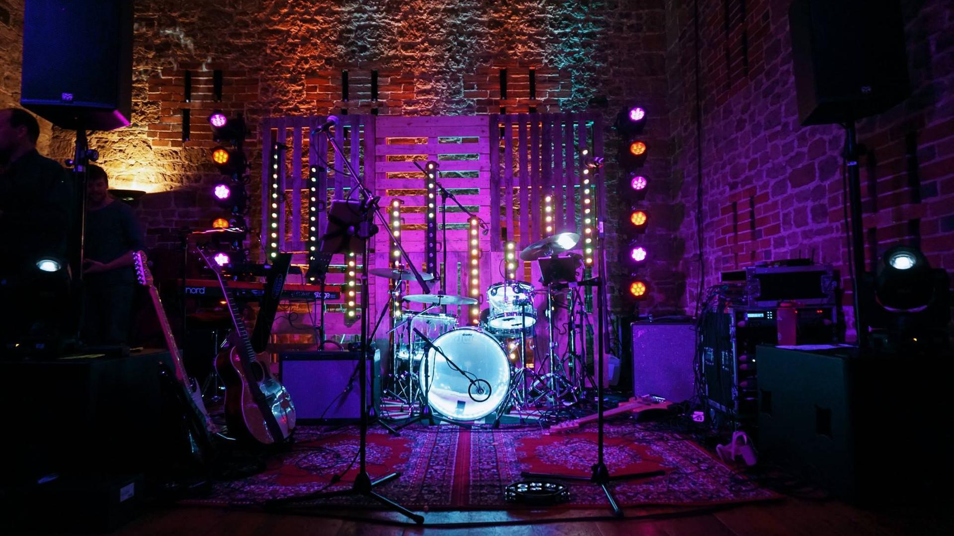 Party Event showcasing lighting & sound sytems
