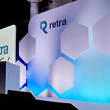 Bespoke Set example of the Retra conference