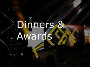 Dinners & Awards Events