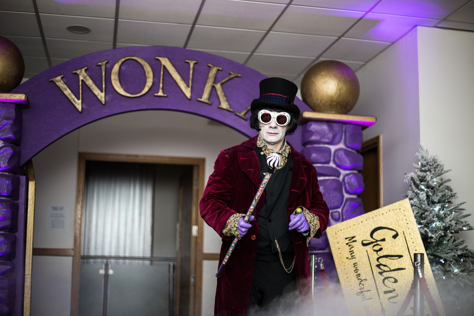 Lingfield Willy Wonka Themed Event