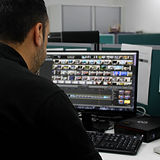 Video Editing example of Avensys Hire & Events crew editing footage post-event