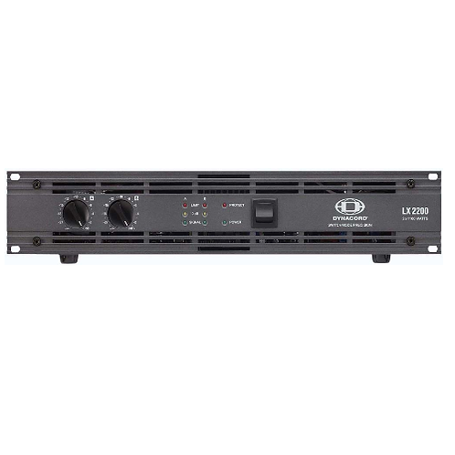 Dynacord LX2200 2x1100w amplifier