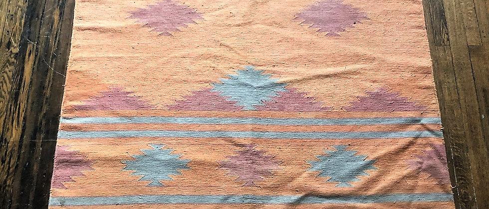 """vintage rug (75"""" x 5')"""
