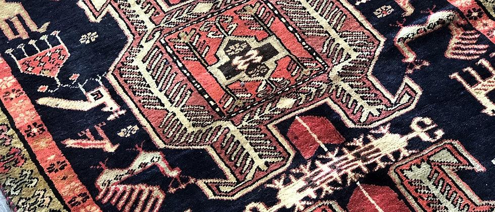 vintage rug (10' x 3.5')