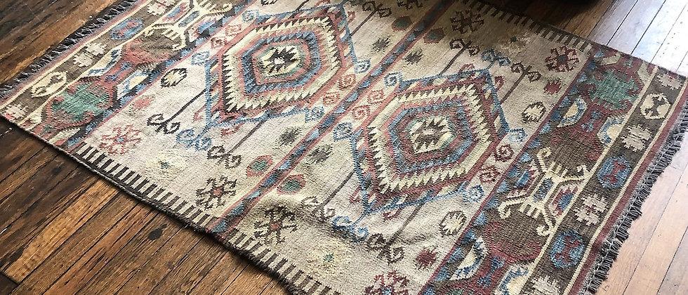 """vintage rug (65"""" x 46"""")"""