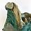 Thumbnail: vintage, ceramic abstract planter