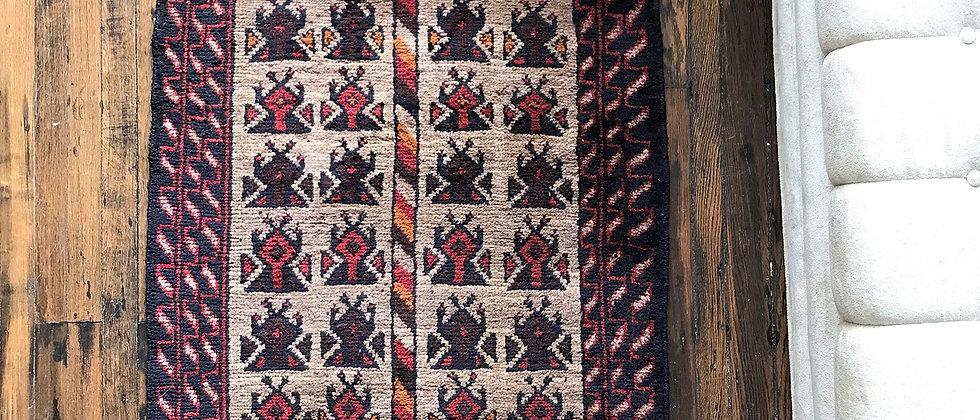 """vintage rug (53"""" x 33"""")"""