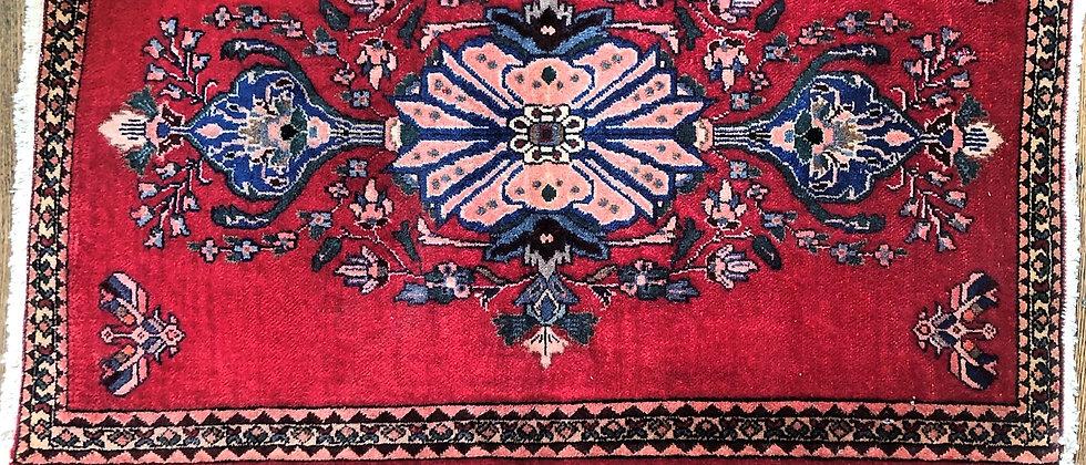 """vintage rug (40.5"""" x 26"""")"""