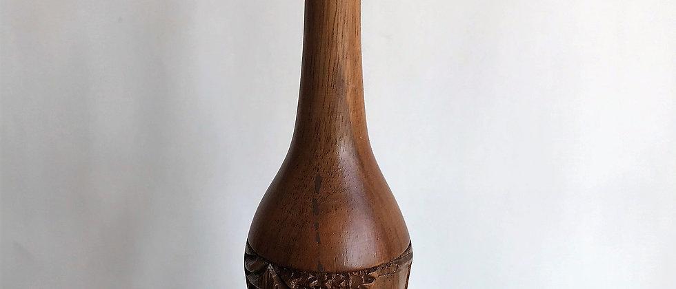 tiny, handcarved vase