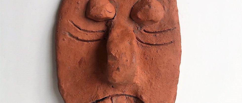 handmade, ceramic mask