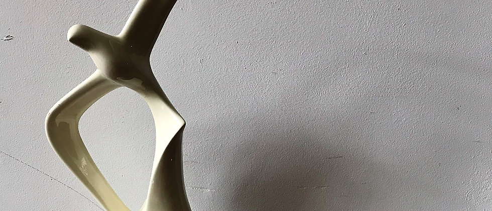 ceramic, seagull statue