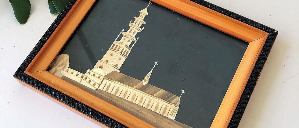handmade, framed art
