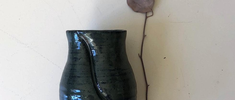 ceramic cup or vase