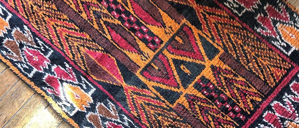 """vintage rug (57"""" x 32"""")"""