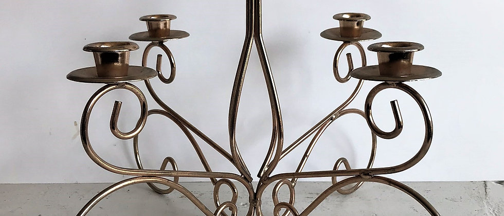 tabletop candleabra