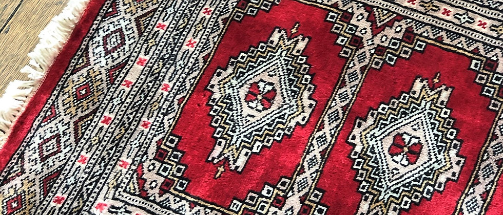 """vintage rug (36"""" x 24.5"""")"""