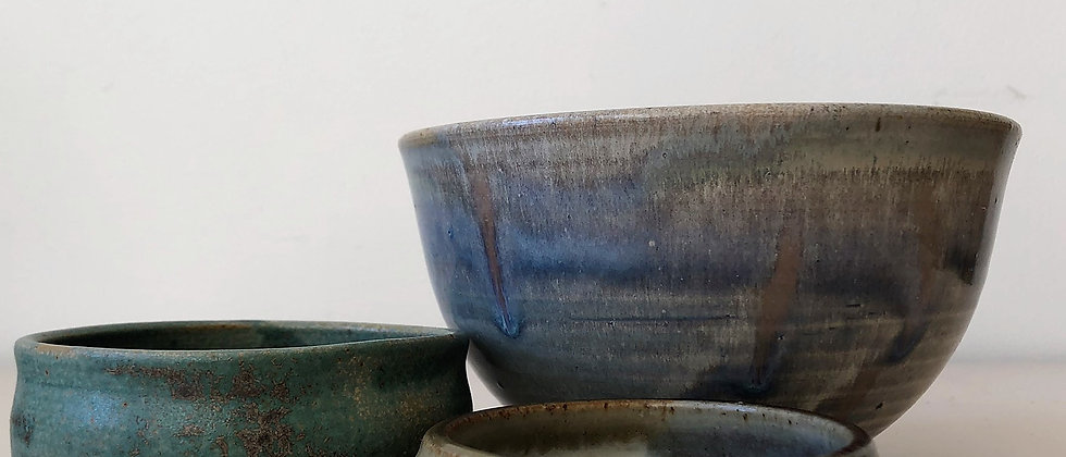 set of ceramic bowls