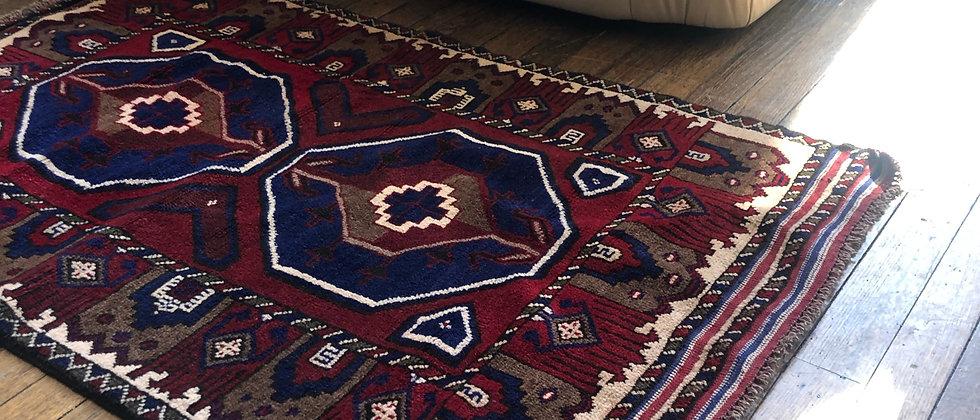 """vintage rug (56"""" x 33"""")"""
