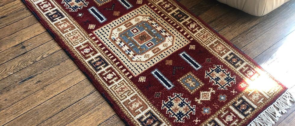 """vintage rug (50.5"""" x 24.5)"""