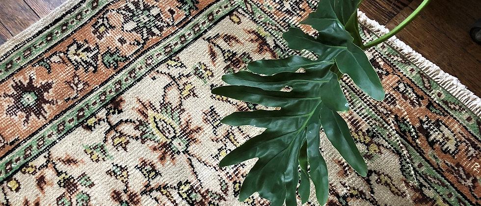 """vintage rug (9'11"""" x 6'1"""")"""
