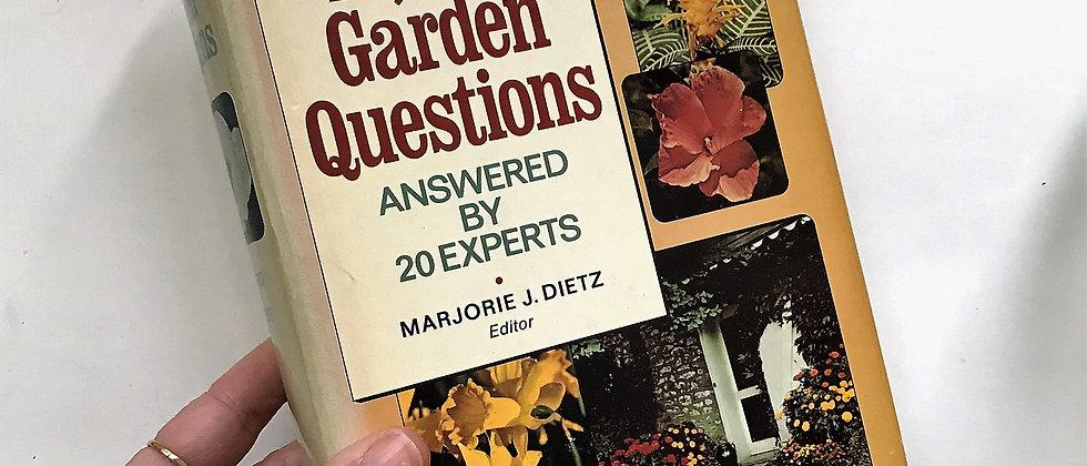 10,000 Garden Questions (1974)