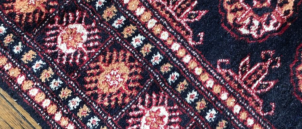 vintage rug (10' x 3')