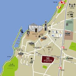 מפת אזור מאויירת