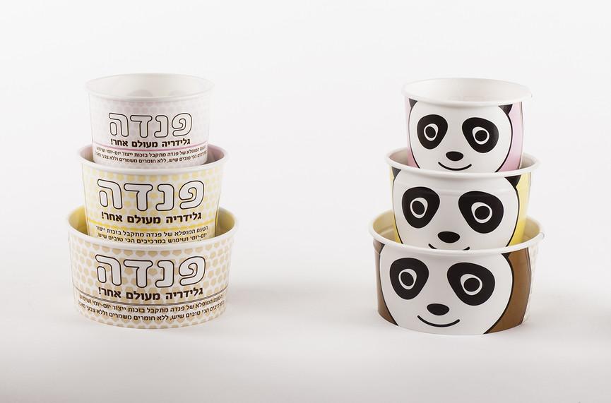 עיצוב כוסות לגלידה