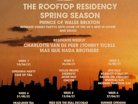 Prince Of Wales Residency Announcement