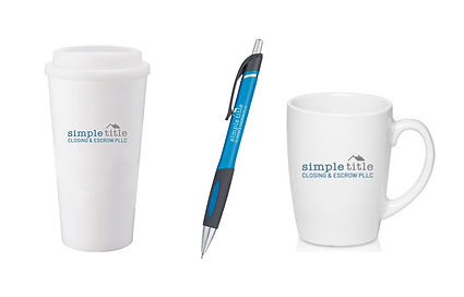 Simple Title Promotional Items, designed by Infinite Marketing, Inc.