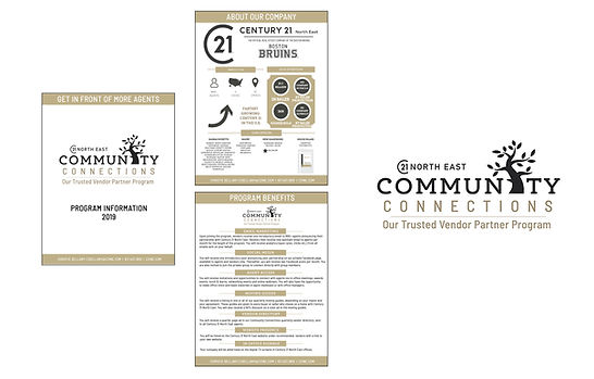 Century 21 North East Community Connections Marketing, designed by Infinite Marketing, Inc.