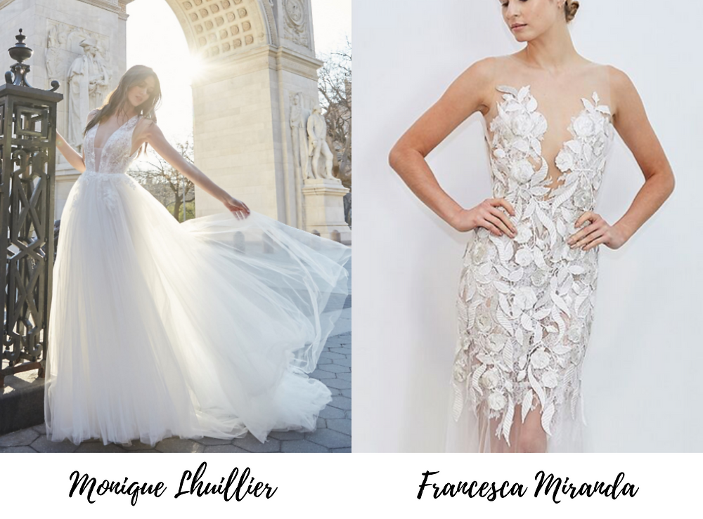 Light-as-Air wedding dresses are the new wedding dress trend for 2020.